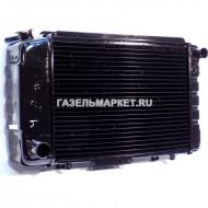 Радиатор охлаждения ГАЗ-3102 (мед.) (ШААЗ)