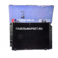Радиатор охлаждения ГАЗ-3302(мед.)2-ряд.(Иран) штыри