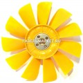 Вентилятор ГАЗ-3302 пласм.11 лопастей