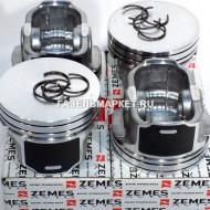 NEXT Поршни УМЗ дв.A274 EvoTech D96.5 с кольцами и пальцами ZEMES (к-т)