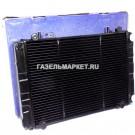 БИЗНЕС Радиатор охлаждения ГАЗ-3302 (Иран) 2 рядн штыри