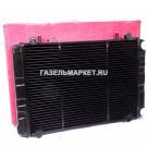 БИЗНЕС Радиатор охлаждения ГАЗ-3302 (Иран) 3 рядн штыри