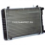 БИЗНЕС Радиатор охлаждения ГАЗ-3302 AL 3 рядн штыри