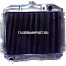 Радиатор охлаждения ГАЗ-2410 (мед.) 3-ряд.ИРАН