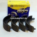 Колодки тормозные ГАЗ-3302 задние (Фритерм)(к-т)